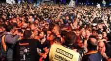 مقتل شخصين في الارجنتين في تدافع ضخم اثناء حفل موسيقي