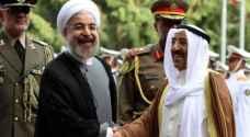 رسالة من روحاني إلى أمير الكويت