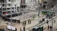 سوريا .. بدء إجلاء مقاتلي المعارضة وأسرهم من حي الوعر في حمص
