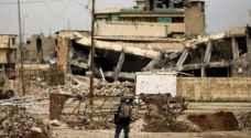 القوات العراقية تقترب من جامع الموصل الكبير وضربة تقتل ارهابيين