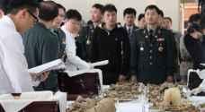 تكريم رفات جنود صينيين قتلوا بالحرب الكورية