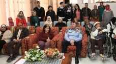 ادارة السير تشارك نزلاء دارات شما احتفالاتهم بعيد الام ويوم الكرامة