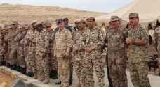 تمرين عسكري أردني بحريني .. صور