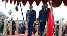 العاهل المغربي يقيم مأدبة عشاء تكريما لجلالة الملك .. صور