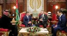تفاصيل لقاء القمة الأردنية المغربية في الرباط ..صور