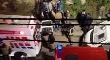 مقتل شخص وزوجته طعنا في اربد والأمن يحقق..صور