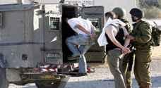 الاحتلال الاسرائيلي يعتقل 18 فلسطينيا