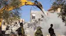 الاحتلال الاسرائيلي يهدم منزلين في العيسوية بالقدس المحتلة