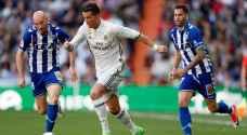 ريال مدريد يتفوق على ألافيس بثلاثية نظيفة