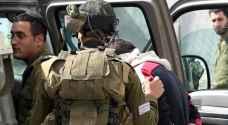 الاحتلال يعتقل 14 فلسطينيا