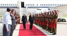 رئيسة الوزراء البريطانية تصل عمان