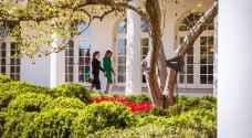 الملكة لميلانيا ترامب :'شكرا على حسن الضيافة'