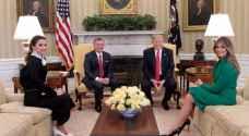 تفاصيل لقاء القمة بين الملك والرئيس الأمريكي