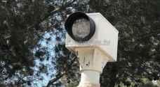 مجهولون يحطمون كاميرات مراقبة السرعة بالرمثا.. صور