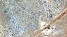بالفيديو ..انفجار في مخيم الركبان داخل الأراضي السورية
