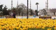 إسطنبول تستقبل الربيع بـ١٠ ملايين زهرة
