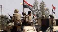الجيش المصري يعلن مقتل إرهابيين في سيناء