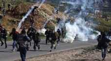 الاحتلال يقمع مسيرة طلابية لدعم إضراب الاسرى