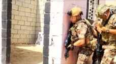 بالفيديو.. جلالة الملك خلال تمرين عسكري بالذخيرة الحية
