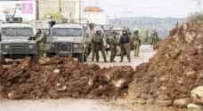 الاحتلال يواصل اغلاق مدخل قرية تِل جنوب غرب نابلس