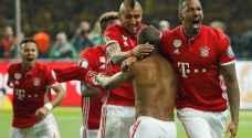 بايرن ميونخ بطلا للدوري الألماني للمرة الخامسة على التوالي
