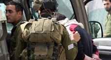 اعتقال ٣٣ فلسطينيا من الضفة الغربية والقدس المحتلة
