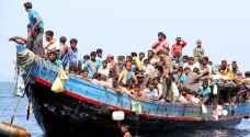 سريلانكا تنقذ ٣٠ من مسلمي الروهينغا على قارب هندي