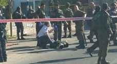 اصابة شاب فلسطيني بنيران الاحتلال في الخليل