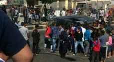 حادث يتسبب بأزمة خانقة في شارع الاستقلال