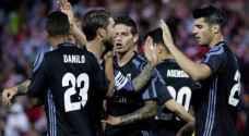 ريال مدريد يرد على فوز برشلونة بانتصار كبير على غرناطة