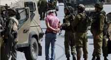 الاحتلال يعتقل ٧ مواطنين بالضّفة