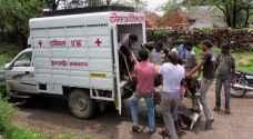 سيارات إسعاف للأبقار في الهند !