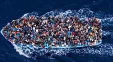 عشرات المفقودين غرق مهاجرين في البحر المتوسط