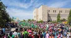 ذراع حماس الطلابي يفوز بانتخابات جامعة بير زيت بالضفة