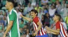 أتلتيكو يتعادل مع بيتيس ويضمن التأهل لدوري الأبطال
