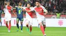 موناكو يقترب من حسم لقب الدوري الفرنسي برباعية في ليل