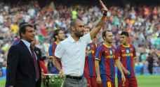 غوارديولا: لو كنت في برشلونة لأقالوني من منصبي