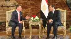 تفاصيل القمة الأردنية المصرية