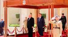 الملك والرئيس العراقي يعقدان مباحثات في عمان
