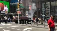 سيارة مسرعة تدهس عددا من المشاة في نيويورك..صور