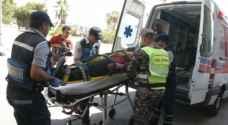 وفاتان و٣ إصابات بحادث تصام مروع في عمان