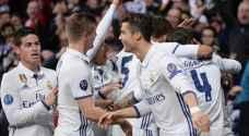 ريال مدريد يتوج بطلا للدوري الاسباني للمرة ٣٣ بتاريخه