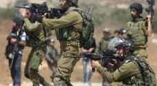 اصابة فتى فلسطيني برصاص الاحتلال
