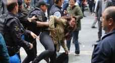 تركيا.. سجن محتجين أضربوا عن الطعام