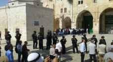 بالفيديو.. مئات المستوطنين يقتحمون المسجد الأقصى