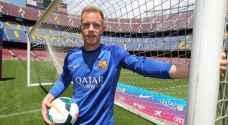 رسمياً.. برشلونة يعلن عن تجديد تعاقده مع تير شتيجن