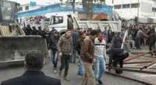 حملة لإزالة بسطات وتعديات على شوارع بالشونة الشمالية