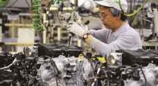 الناتج الصناعي الياباني يرتفع ٤% في نيسان