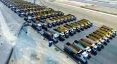 تركيا..استعراض ضخم للشاحنات في ذكرى فتح اسطنبول