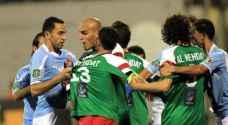 حرمان جمهوري الفيصلي والوحدات من حضور أول مباراة لهما